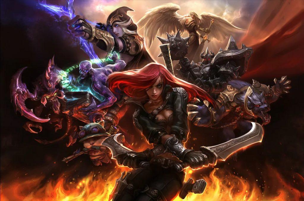 League of Legends Games